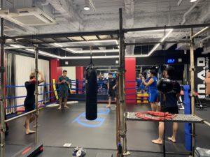 6月のキックボクシングクラスレッスン始まりました!